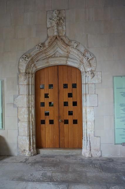Montserrat cloister fragment