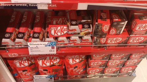London Heathrow Kit Kats (UK)