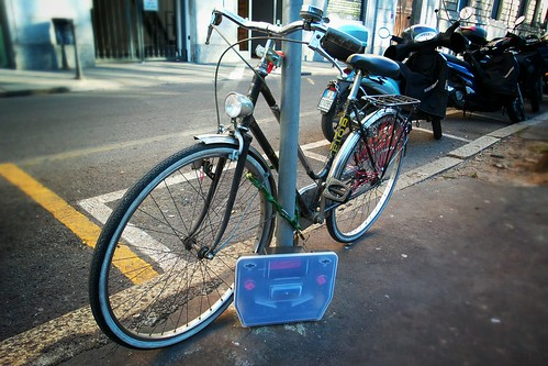 La bicicletta sotto derattizzazione!
