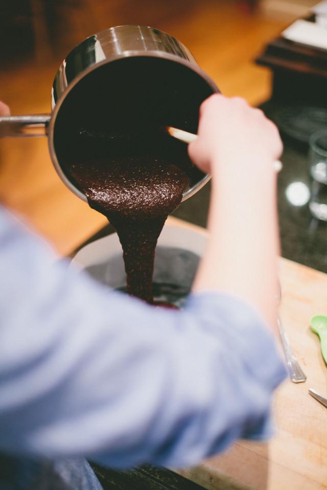 Gluten-free Swedish Chocolate Cake Batter by Sorella Muse Photography