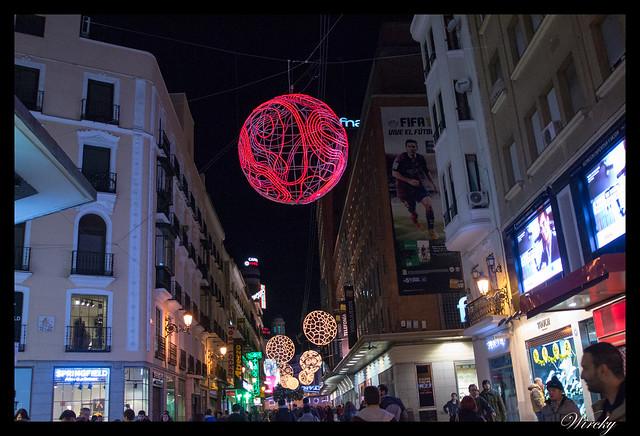 Madrid en Navidad 2014