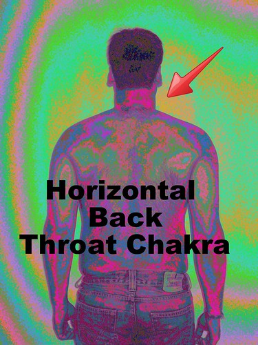 Horizontal Back Throat Chakra