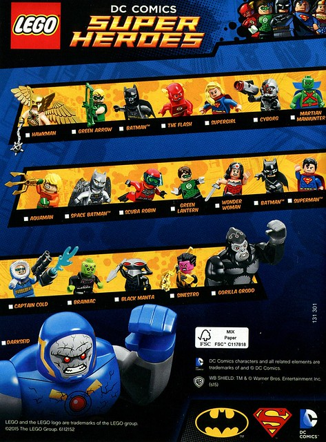 Super Heroes Figures 2015 DC