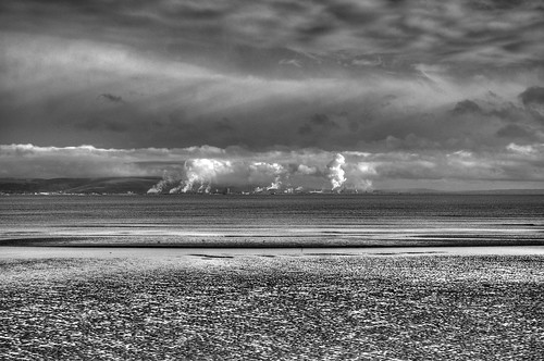 sea bw industry water wales blackwhite 1st smoke pollution getty mumbles frontpage hdr seaview porttalbot d90