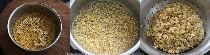 How to make jowar khichdi - Step1