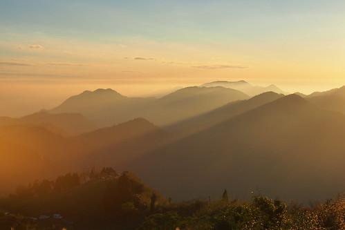 sunset voigtlander olympus 夕陽 chiayi 阿里山 25mm 嘉義 f095 福倫達 em5 隙頂 二延平