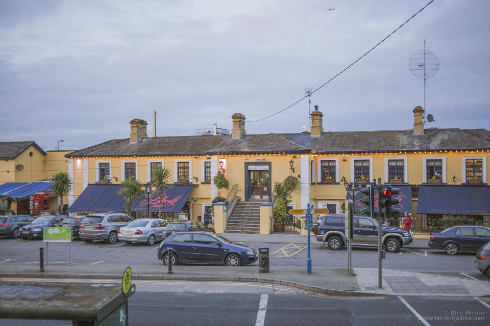 Howth Dart (train) station, Dublin, Ireland