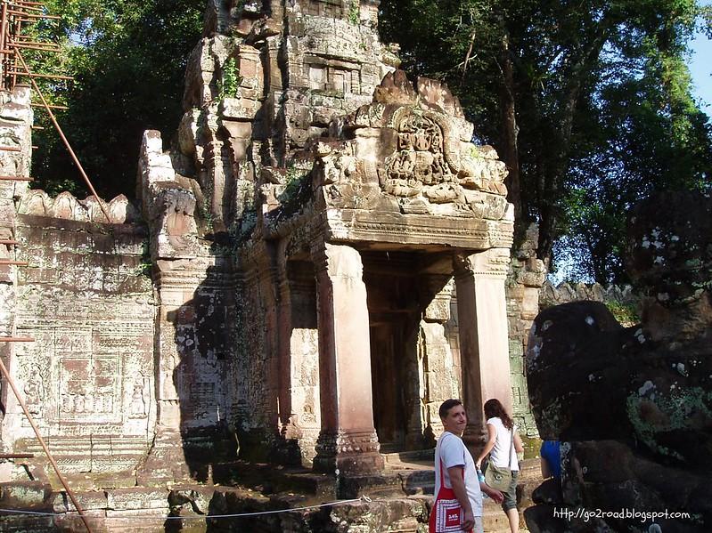 Пре Кан - древний монастырь в Камбодже