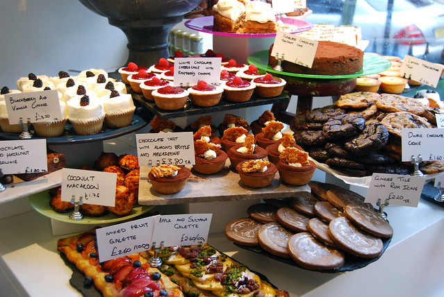 Ottolenghi Cake Window, Notting Hill