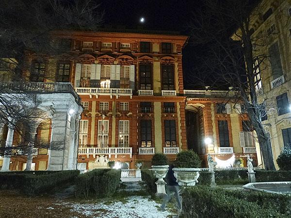jardin palais blanc
