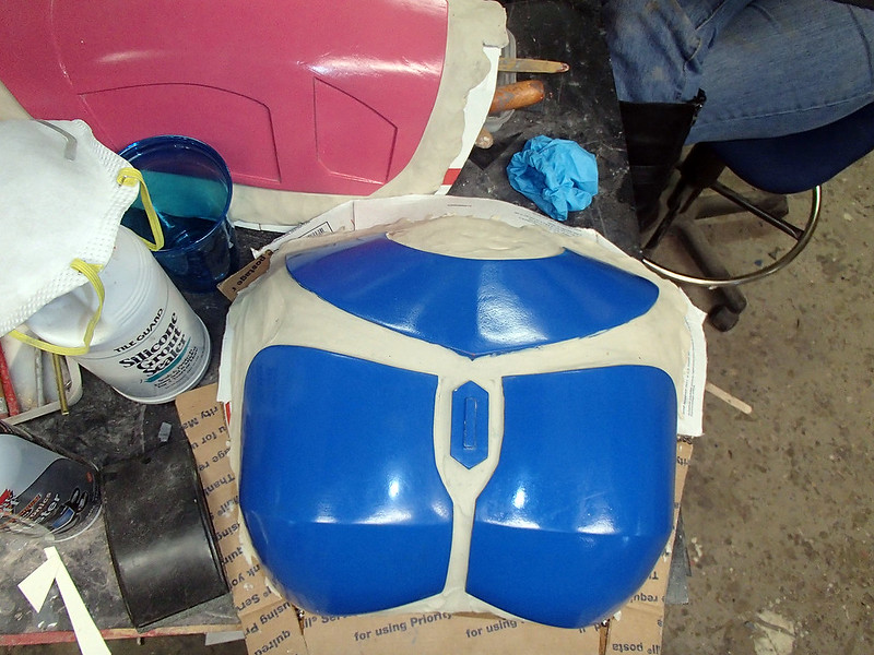 Nite Owl Chest Nearly Ready to Mold