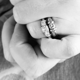 """SOMEONE FOUND IT AND TURNED IT IN. My eyes are still swollen from the thought I had lost it forever. I collapsed sobbing into Cody once it was back in my hand, and all he said was """"Welp, now you know how much that ring means to you."""" Thank you for all you"""