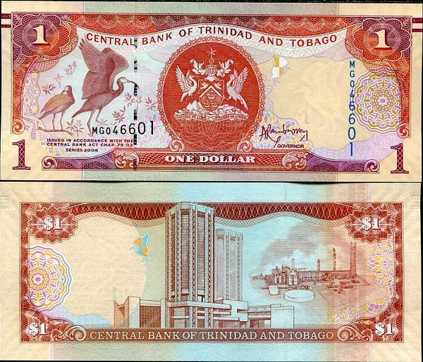 *1 Dolár Trinidad a Tobago 2014