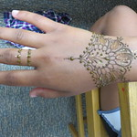 Henna with Lily