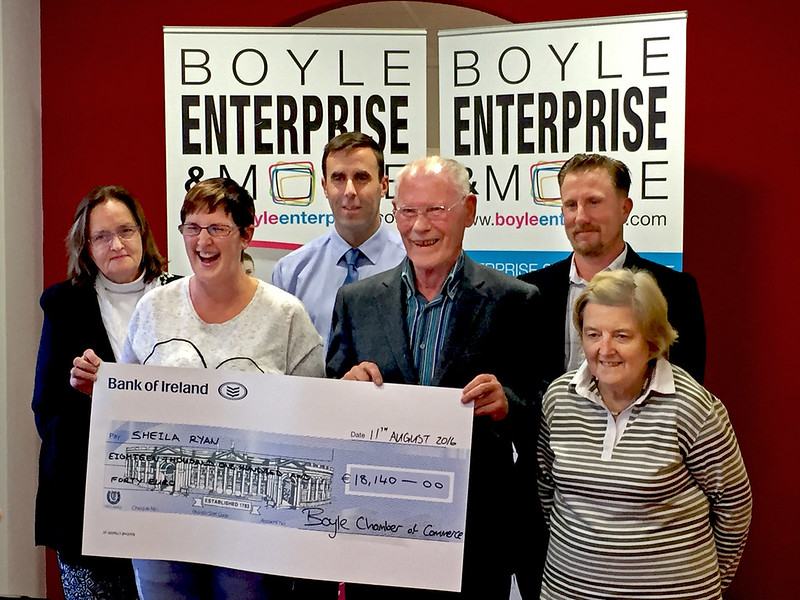 Boyle Chamber Lotto Winner