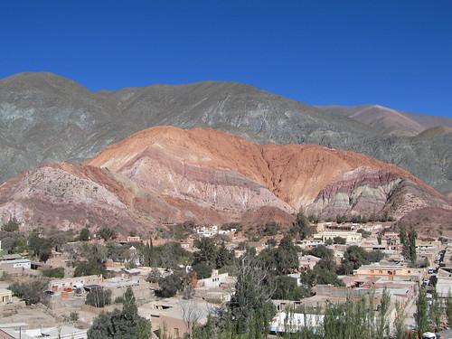 Purmamarca: el Cerro de los Siete Colores (la Montagne aux Sept Couleurs)