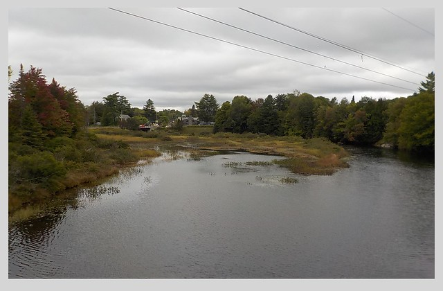 View of Moose River, Nikon COOLPIX S33