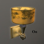 Garden Round Wall Lamp 3D Model