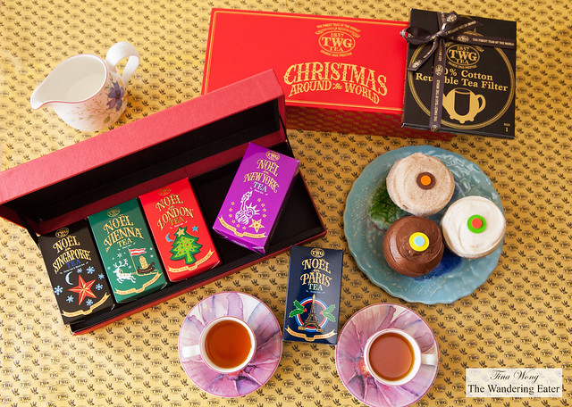 Christmas Around the World Tea Set