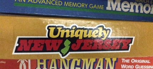 """Uniquely New Jersey"" board game"