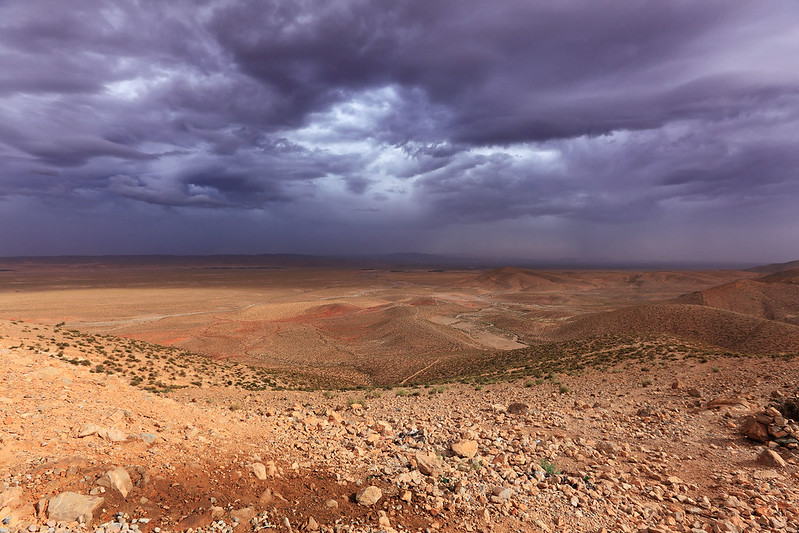 Storm over Africa