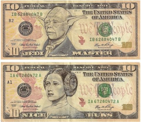 Currencies of the Jedi