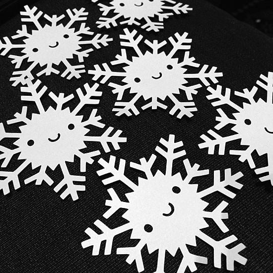 Paper-cut Snowflakes