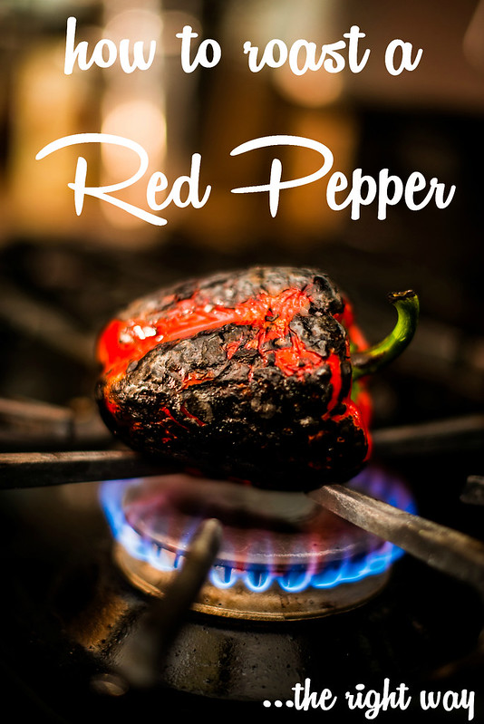 how to roast a red pepper in_the_know_mom #NewTraDish