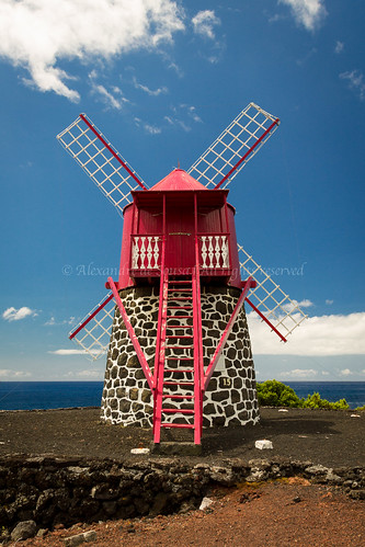 Azorean windmill