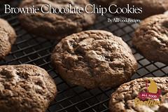 Brownie Chocolate Chip Cookies