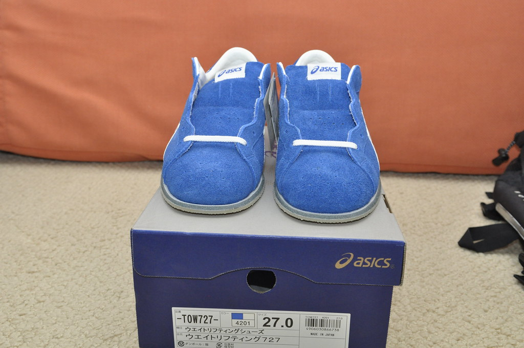 299a93bc0912 ... Asics TOW 727 Weightlifting shoes CM 27  US 9