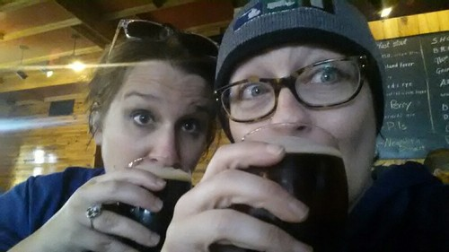 Dawn & I at Slows