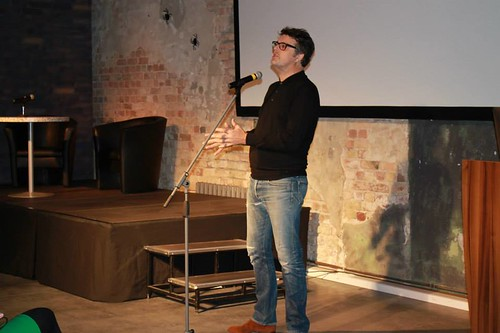 Presentation by British film director and producer Martin Herring