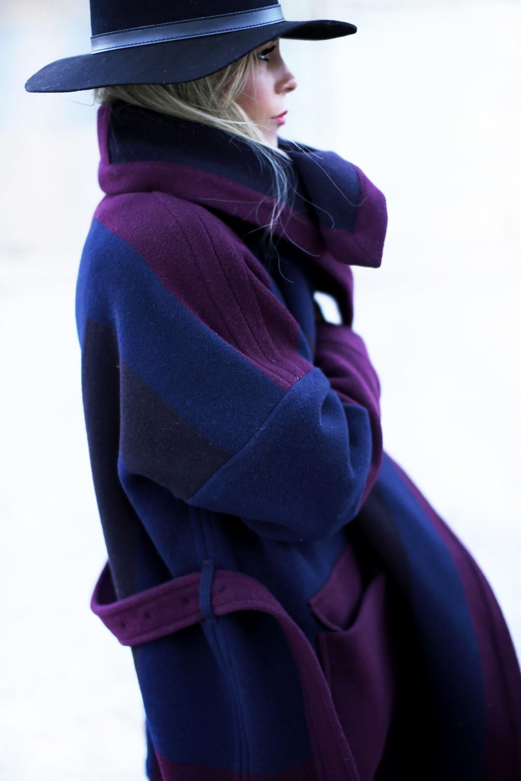 burberry blanket coat
