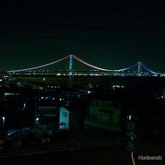 """rainbow"" bridge #awajishima #Japan"