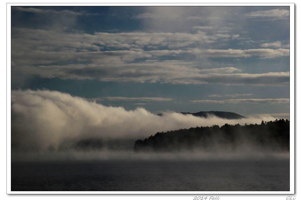 徒步秋色7-新罕布希爾最佳徒步山路--老佛爺山,比趕場還熱鬧