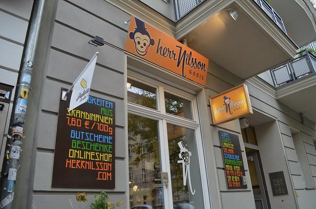 Herr Nilsson Godis Berlin_ Scandinavian candy store_ shop front
