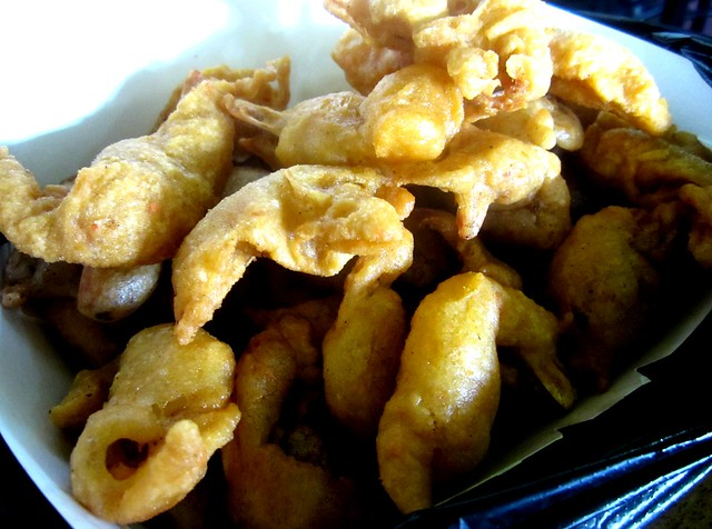 Sunny Cafe prawn fritters
