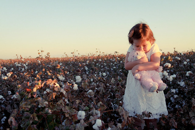 Baby Girl Cotton Fields