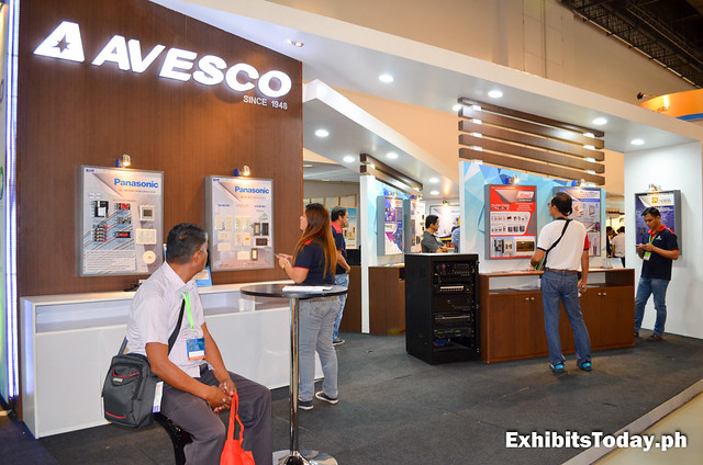 Avesco Exhibit Stand