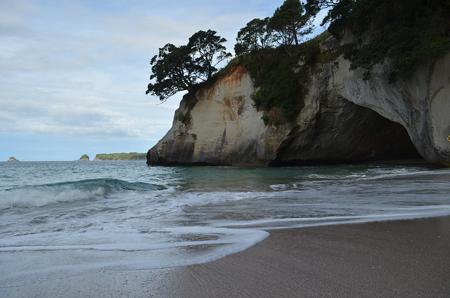 Hidden beach - Cathedral Cove