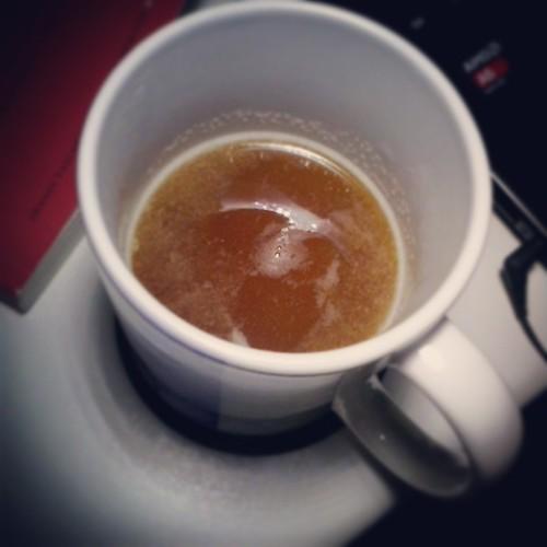 Tea with Apple Juice