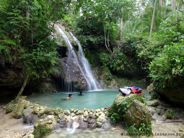 Pampam Falls in Iligan City, Philippines