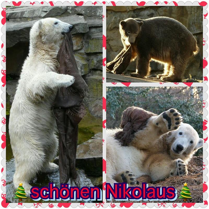 schönen Nikolaus von dem niedlichsten Jutesackbespieler :-)