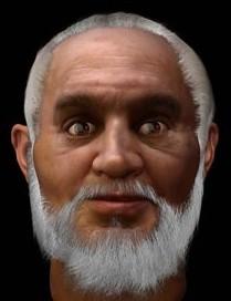 The Real face of Santa Claus