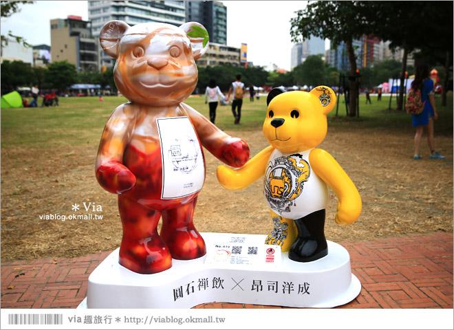 【台中泰迪熊草悟道】台中泰迪熊展2014地點(草悟道篇)~熊可愛‧親子熊超卡哇依!40