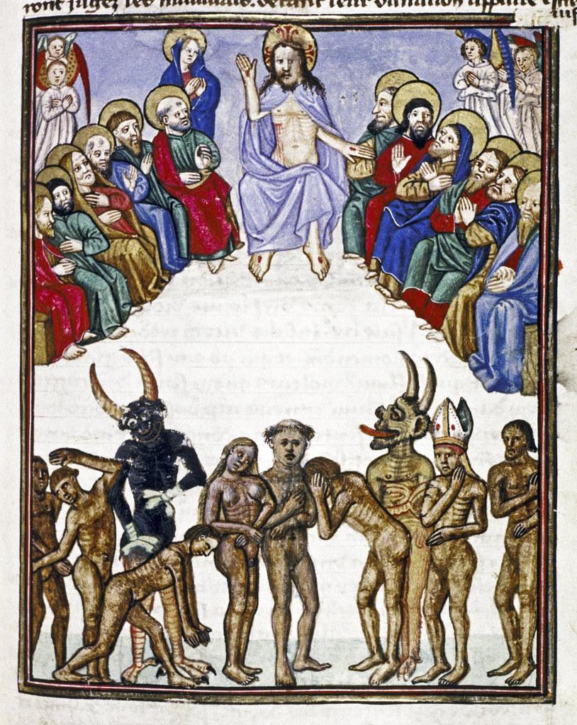 Demons From The Livre de la vigne nostre Seigneur, 1450 - 70 (18)