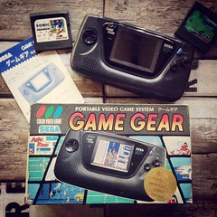 Sega Game Gear from 1990.