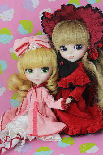 Hina Ichigo & Shinku