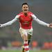 Alexis Sanchez celebrate scoring the 2nd Arsenal goal by Stuart MacFarlane